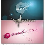 پروژه افتر افکت ته نشین شدن Alluvion Stylish 3D Logo Reveal