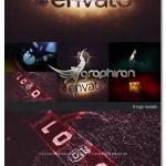 پک پروژه های افتر افکت نمایش لوگو سینمایی Cinematic Logo Pack