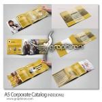 دانلود طرح لایه باز بروشور و کاتالوگ تجاری آماده ۱۶ صفحه ای