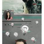 اکشن فتوشاپ افکت نویز تلویزون Glitch Photoshop Action