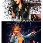 اکشن فتوشاپ افکت نت های موسیقی Music Notes Photoshop Action