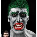 اکشن فتوشاپ تبدیل عکس به جوکر بت من The Joker Photoshop Action