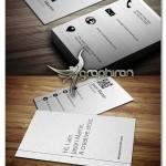 دانلود ۲ طرح کارت ویزیت سبک مترو PSD لایه باز – شماره ۳۷۴