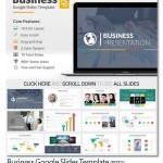 دانلود قالب تجاری پاورپوینت Business Google Slides Template
