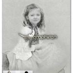 اکشن فتوشاپ ایجاد افکت نقاشی زیبا Drawing Photoshop Action