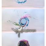 پروژه افتر افکت پاشیدن لوگو به شکل مایع Flush Logo