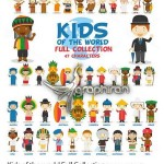 تصاویر کودکان از سراسر دنیا Kids of the world Full Collection