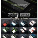 دانلود پک حرفه ای کارت ویزیت های مدرن PSD لایه باز – شماره ۳۷۸