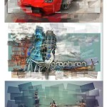 اکشن فتوشاپ بریدن قطعات عکس Shred Photoshop Action