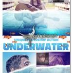 اکشن فتوشاپ افکت عکس زیر آب Underwater Photoshop Action