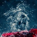 اکشن فتوشاپ ساخت افکت پاشیده شدن آب Water Photoshop Action