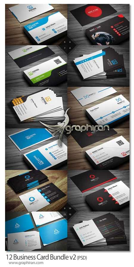 12 Business Card Bundle v2