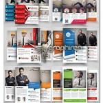دانلود ۶ طرح خام و لایه باز تراکت تبلیغاتی مدرن و حرفه ای