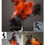 اکشن فتوشاپ افکت روح پلید در عکس Daemon Photoshop Action