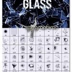 دانلود براش های فتوشاپ شیشه شکسته شده Ron's Shattered Glass