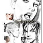 اکشن فتوشاپ افکت نقاشی مدادی Sketch Master Photoshop Action