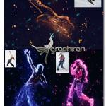 اکشن فتوشاپ افکت جرقه های رنگی Spark PS Action