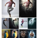 اکشن فتوشاپ افکت ایکس ری X-RAY Photoshop Action