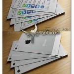 کارت ویزیت طرح گوشی آیفون iOS7 فرمت PSD لایه باز – شماره ۳۸۳