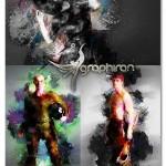 اکشن فتوشاپ گرانج آبتسرکت Abstract Grunge Photoshop Actions