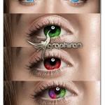 اکشن فتوشاپ تغییر رنگ چشم Pro Eyes Enhancement & Color Change