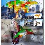 اکشن فتوشاپ ساخت شیشه رنگی Stained Glass Photoshop Action