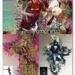 اکشن فتوشاپ ساخت تصاویر با حروف Type Photoshop Action