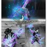 دانلود اکشن فتوشاپ انفجار الکتریکی Blast Photoshop Action
