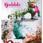 اکشن فتوشاپ افکت حبابی شدن تصویر Bubble Photoshop Action