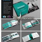 قالب آماده و لایه باز بروشور تجاری Corporate Brochure Template