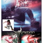 اکشن فتوشاپ افکت رقص نور Dance Photoshop Action