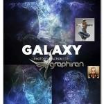 اکشن فتوشاپ افکت اجرام آسمانی Galaxy Photoshop Action