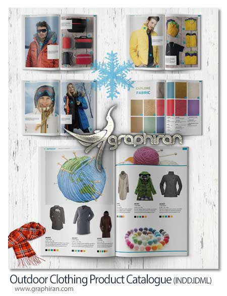 Outdoor Clothing Product Catalogue