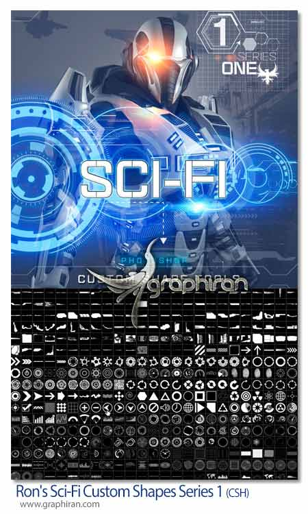 Ron's Sci-Fi Custom Shapes Series 1