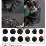 دانلود مجموعه تصاویر اشکال سطحی کروی Surface Shapes