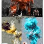 اکشن فتوشاپ افکت نقاشی حرفه ای Ultimate Art Photoshop Action