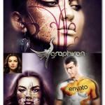 اکشن فتوشاپ نقاشی روی بدن Body Painting Photoshop Action