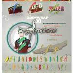 پک المان های کارتونی افکت های حرکت بدن Bodywrap + فیلم آموزشی