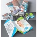 دانلود ۲ طرح آماده بروشور تجاری تبلیغاتی PSD لایه باز