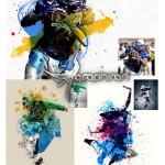 اکشن فتوشاپ ترکیب افکت های تکنیکی Mixtechnic Photoshop Action