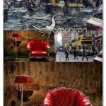 اکشن فتوشاپ ایجاد افکت سیل و باران Flood Photoshop Action