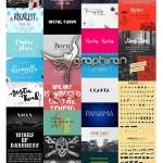 مجموعه ۱۰۰ فونت گرافیکی و خاص انگلیسی Fonts Giga Bundle v.1