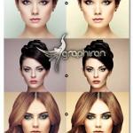 اکشن فتوشاپ زیباسازی پوست در عکس Beauty Skin Photoshop Action