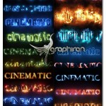 دانلود افکت های متن سینمایی افترافکت Cinematic Text Styles Pack