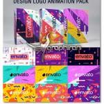 پک انیمیشن های افتر افکت طراحی لوگو Design Logo Animation Pack