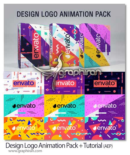 پک انیمیشن های افتر افکت طراحی لوگو