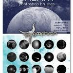 براش فتوشاپ کهکشان و اجرام آسمانی Galaxy Brushes for Photoshop