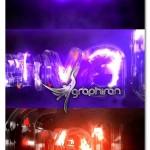 پروژه افتر افکت لوگوی شیشه ای نئون Neon Energy Glass Light Logo