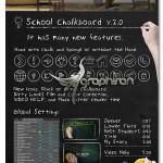 پروژه افترافکت تخته سیاه مدرسه School Chalkboard + فیلم آموزشی