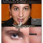 اکشن های تخصصی فتوشاپ روتوش پوست Skin Retouch Photoshop Actions